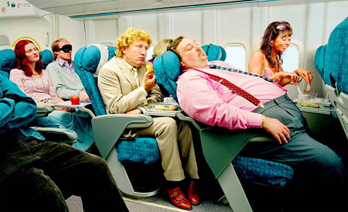 Flying comfortably - Global Travel Alliance SA