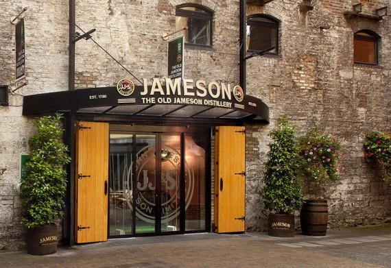 Courtyard at the Jameson Distillery Dublin