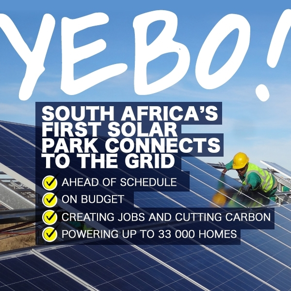 Go Green - South Africa solar power - Global Travel Alliance SA