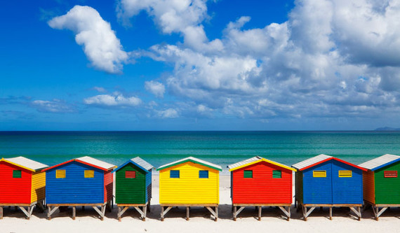 Cape Town Beaches - Muizenberg