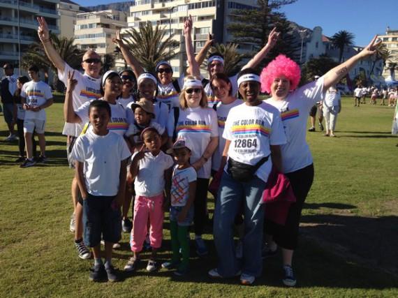 Global Travel Alliance SA  - color run team