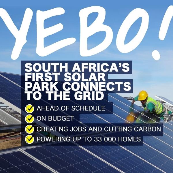 Go Green - South Africa solar power - Global Travel Alliance SA