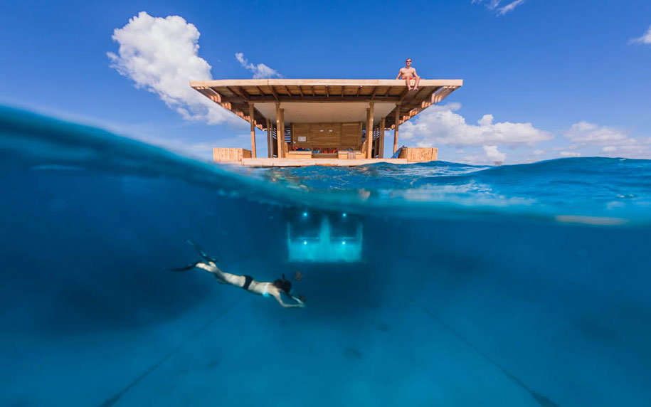 underwater-hotel - global travel alliance sa